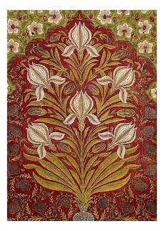 floorspread painted and dyed cotton late 17th early18th