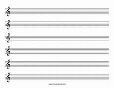 Music Staff Sheet Blank Sheet Music Treble Clef Staff Blank Sheet Music