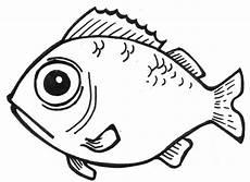 Fische Zeichnen Malvorlagen Fish Line Drawings Cliparts Co