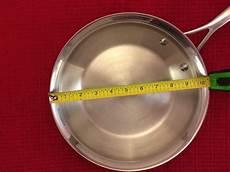 Frying Pan Size Chart How To Measure A Frying Pan