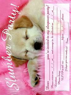 Girl Sleepover Invitations Invitations For Sleepover Party