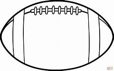 Football Stencil Printable American Football Ball Coloring Page Free Printable