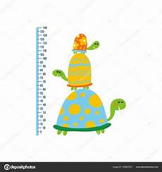 Cute Growth Charts Cute Growth Chart For Kids Stock Vector 169 Webmuza 162961672