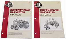 Tractor Parts Farmall I Amp T Shop Service Manual From
