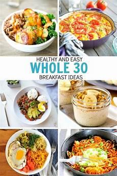 healthy whole 30 breakfast ideas pinkwhen