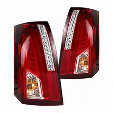 2006 Cadillac Cts Led Lights 03 07 Cadillac Cts Led Lights Red