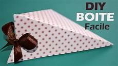 comment fabriquer une boite cadeau facile diy boite en
