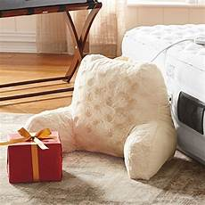 backrest pillow with arms home reading pillow for adults
