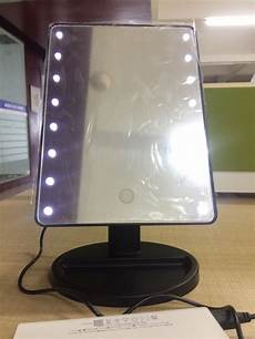 Vanity Mirror With Lights Battery Dc Or Battery Operated Vanity Led Mirror Hollywood Style