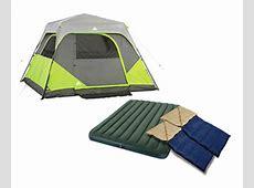 6 Person Ozark Trail Instant Cabin Tent Bundle Pack