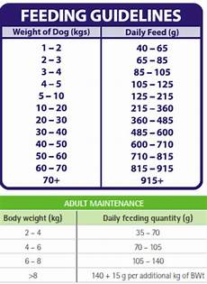 Puppy Feeding Chart By Weight Age Castle Vets Overweight Pets