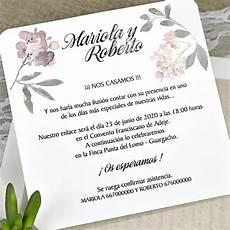 Invitaciones De Boda Ejemplos Invitaci 243 N Boda Modelo 39626 Invitaciones De Boda Inviboda