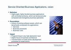 Service Oriented Person Definition Service Oriented Business Aplications
