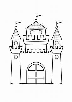 Ausmalbilder Prinzessin Schloss Kostenlos Ausmalbild Prinzessin Prinzessinnenschloss Ausmalen
