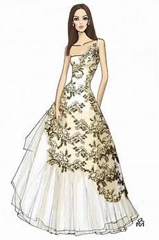 Dress Designing Sketches Fashion Designer My Cretivity