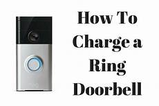 Blue Light On My Ring Doorbell How To Charge A Ring Doorbell Ring Wi Fi Enabled Video