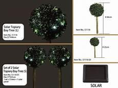 Garden Solar Light Topiary Bush Solar Topiary Bay Tree Solar Topiary Tree Topiary