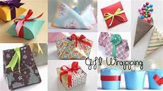 crafts gifts 10 fantastic gift wrap ideas paper crafts compilation