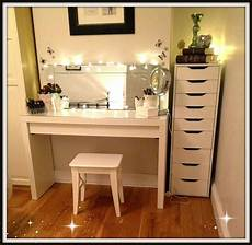 Vanity Table Set With Lights Makeup Storage And Vanity Table The Beautiful Truth