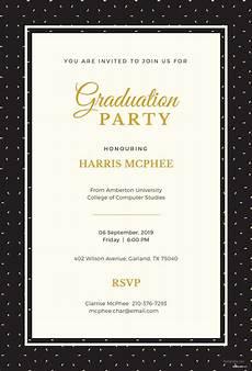 Event Invitation Templates Free Free Graduation Invitation Template In Adobe Photoshop