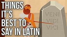 Latin Word For Design Things It S Best To Say In Latin Youtube