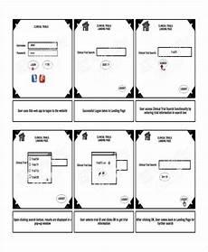 Web Page Storyboard Template Free 7 Website Storyboard Samples In Pdf