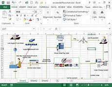 Workflow Chart Template Excel Make Great Looking Flowcharts In Excel