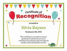 Text For Certificate Of Recognition 124 Free Printable Diy Certificate Templates