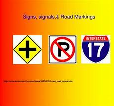 Ppt Chapter 3 Signs Signals And Pavement Markings