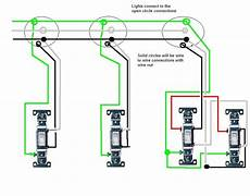 Split One Light Fixture Into Two I M Wiring In 3 Lights In Series All With Separate