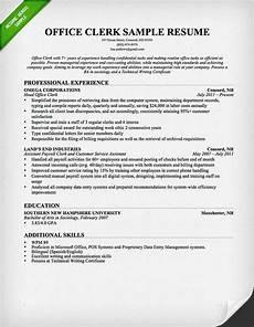 Mailroom Clerk Resume Sample Office Worker Resume Sample Resume Genius