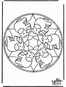 Ausmalbilder Ella Elefant Ausmalbild Elefant Mandala Bild