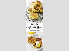 Einkorn English Muffins   Recipe   Food recipes, Food