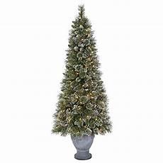 Martha Stewart Living Christmas Tree Lights Martha Stewart Living 6 5 Ft Pre Lit Sparkling Pine