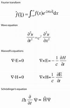 Progetto Polymath Equations That Rule The World