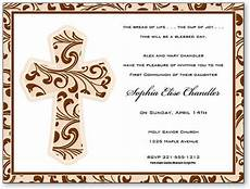 imprintable baptism invitations first holy communion invitations communion invitation