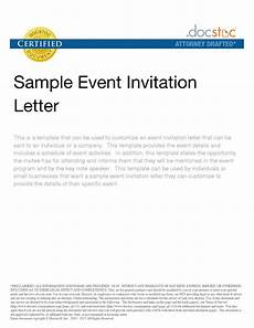 Event Invitation Examples Corporate Event Invitation Text