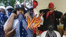 Bloods Vs Crips Blood Rappers Vs Crip Rappers Youtube