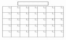 Print A Blank Calendar 6 Best Blank Printable Calendar Printablee Com