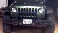 Jeep Grill With Lights Jeep With Jk Raptor Style Grille Light Mod Love It Or