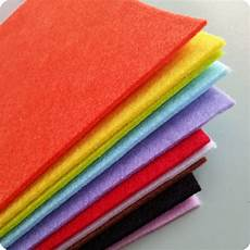 fabric crafts felt 2mm thick felt fabric 10 sheets 30cm x 30cm your own
