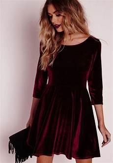 velvet dress ideas for outs