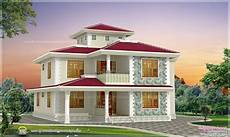 4 Bhk House Design Plans 4 Bhk Kerala Style Home Design Indian House Plans