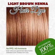 Rainbow Henna Light Brown Light Brown Henna Hair Dye 100 Organic And Chemical
