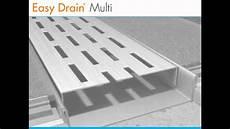 canalette per doccia canalette per doccia a pavimento easy drain multi