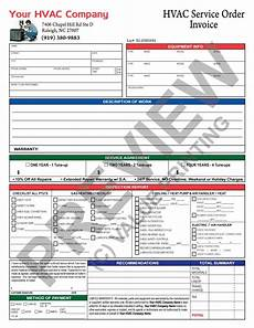 Air Conditioning Service Report Template Hvac Invoice With Inspection Report And Hvac Service