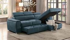 Sectional Sleeper Sofa With Storage 3d Image by Homelegance Ferriday Reversible Sleeper Sectional With