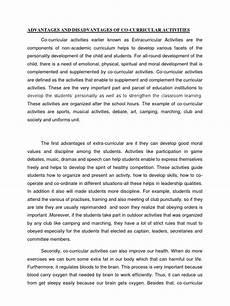 Essay On Curriculum Essay Co Curricular Curriculum Leadership