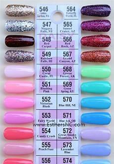 Cnc Gel Polish Color Chart Dnd Gel Nail Polish Color Chart Creative Touch