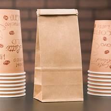 Coffee Bag 1 2 Lb Brown Kraft Customizable Paper Coffee Bag With